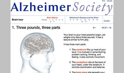 Alzheimer Society Brain Tour screenshot2