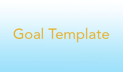 Goal Template image