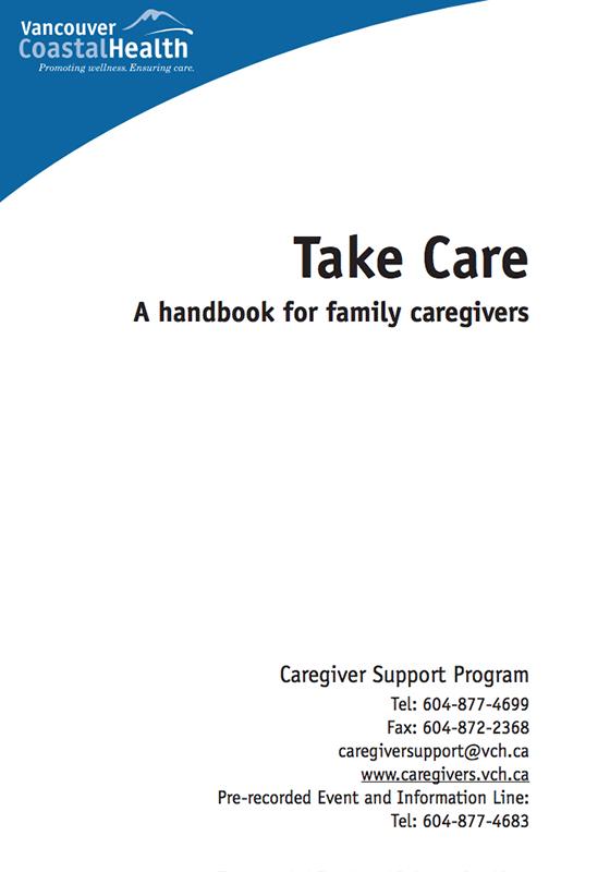 TakeCareHandbook cover image