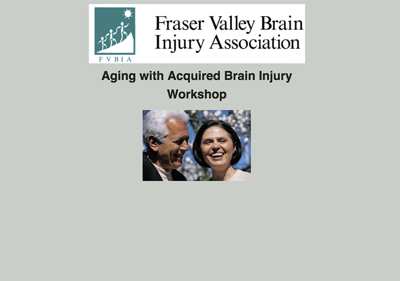 aging with a brain injury