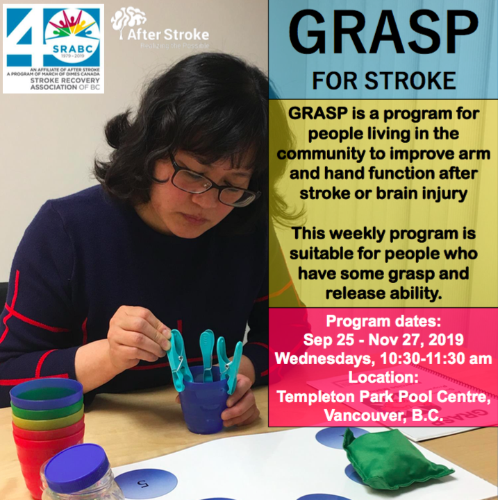 GRASP for stroke program poster