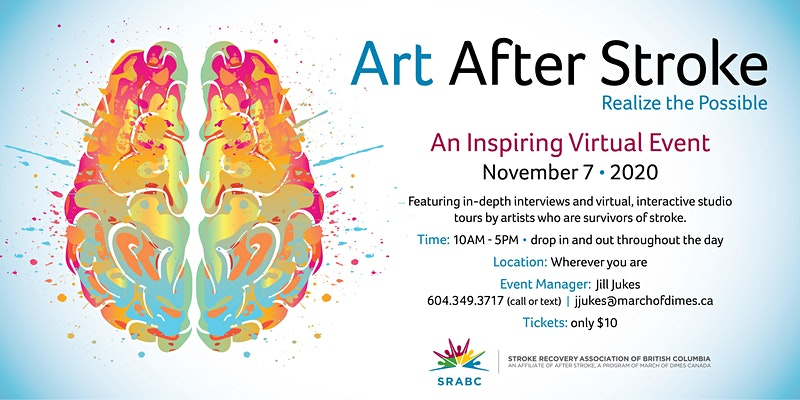 art after stroke virtual edition - event image