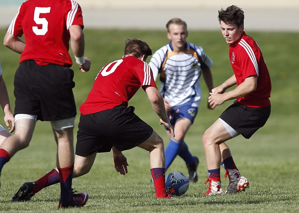 high school rugby players